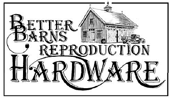Better Barns Hardware and Plans